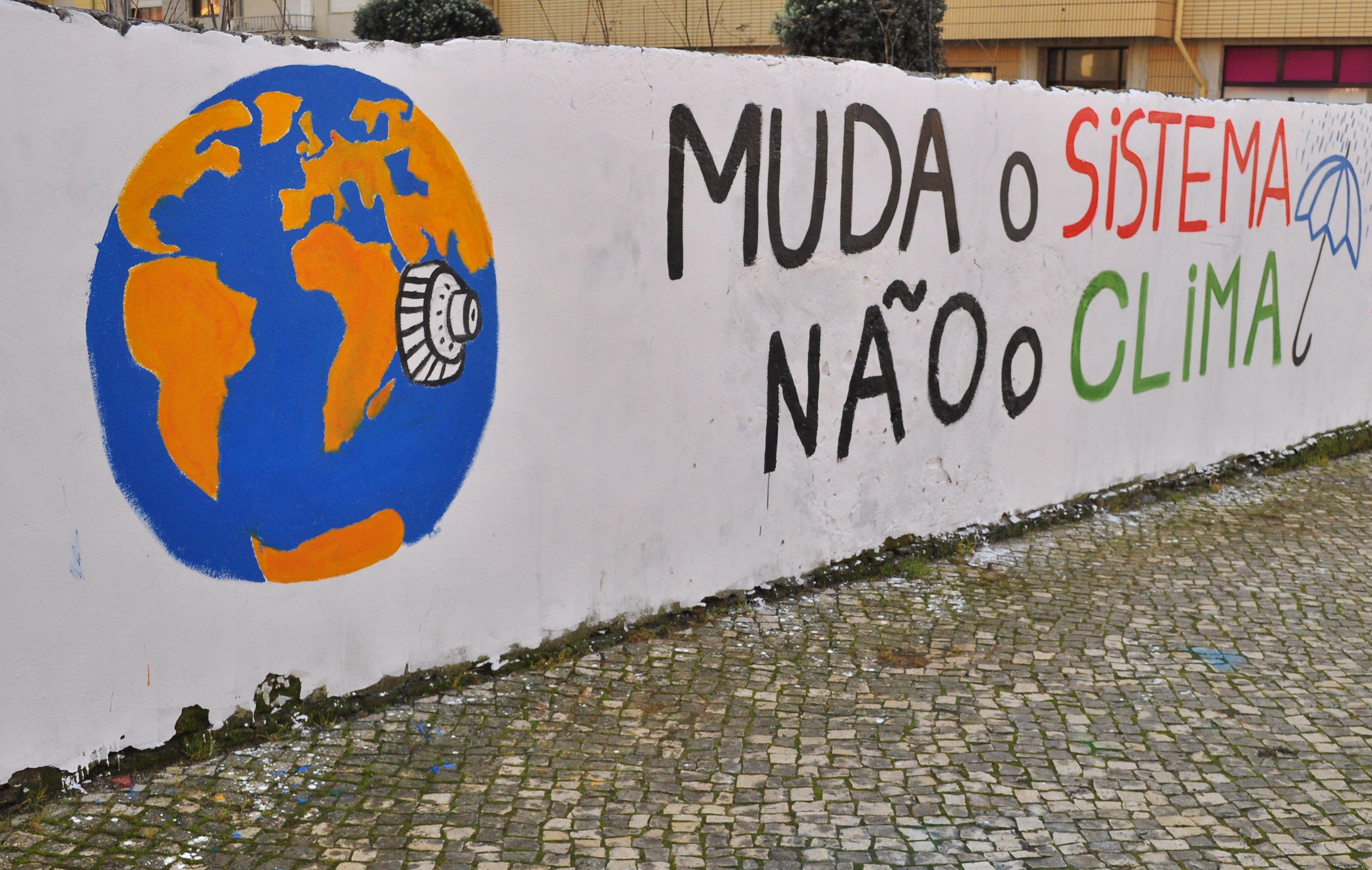 Marcha Mundial do Clima em Portugal: Fotos