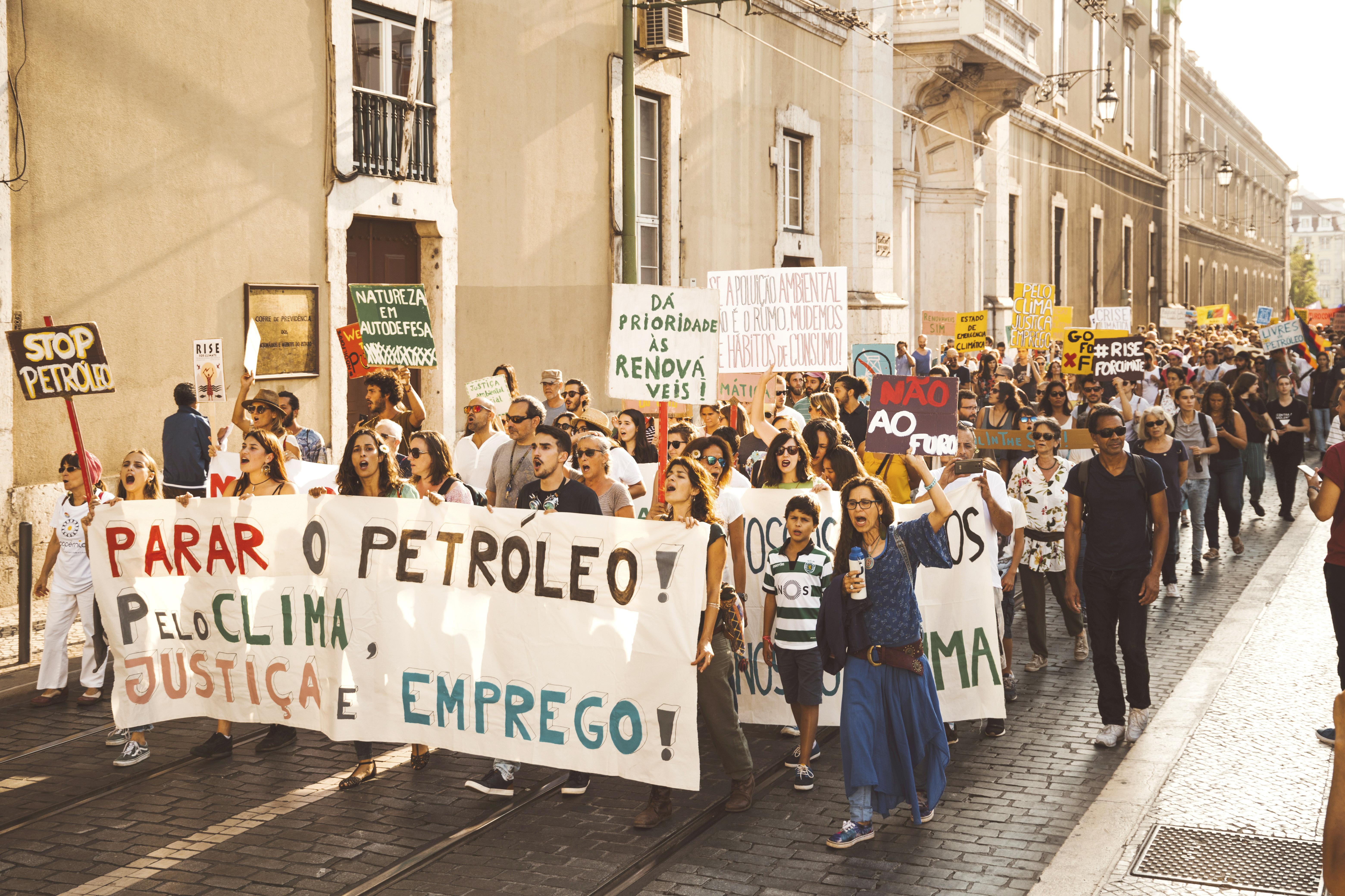 8 setembro:  Marcha Mundial do Clima 2018